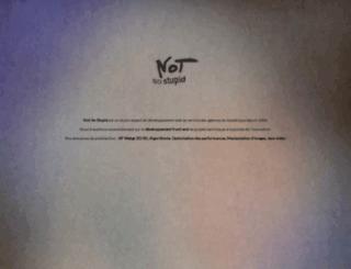 not-so-stupid.com screenshot