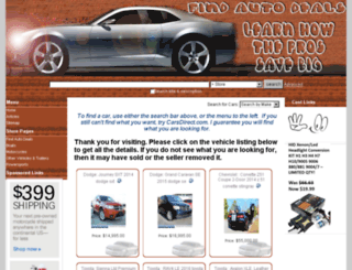 not2oldcars.info screenshot