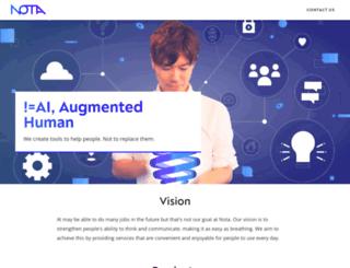notainc.com screenshot