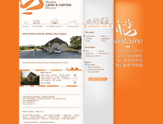notaire-savoie.fr screenshot