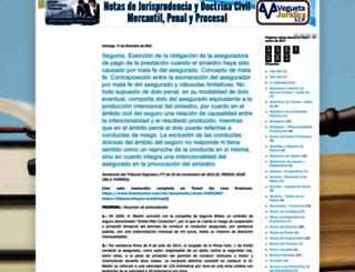 notasdejurisprudencia.blogspot.com.es screenshot