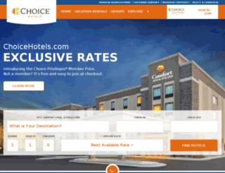 notavail.choicehotels.com screenshot