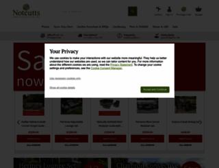 notcutts.co.uk screenshot