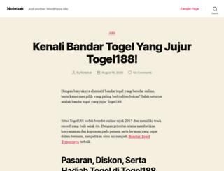 notebak.com screenshot