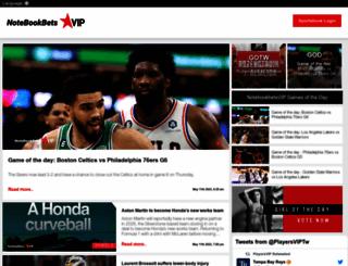 notebookbets.com screenshot
