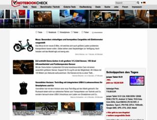 notebookcheck.com screenshot