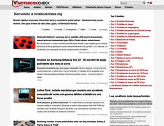notebookcheck.org screenshot