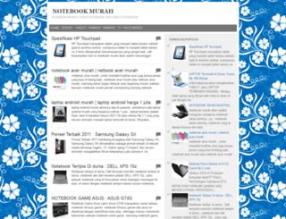 notebookmurahcom.blogspot.com screenshot