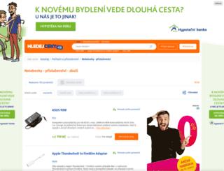 notebooky-prislusenstvi.hledejceny.cz screenshot