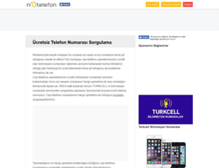 notelefon.com screenshot