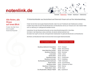notenlink-shop.de screenshot