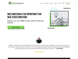 noteschool.com screenshot
