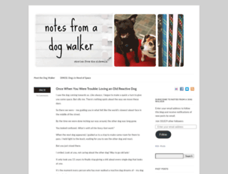 notesfromadogwalker.com screenshot