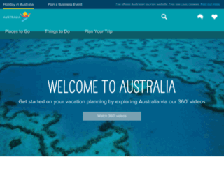 nothinglikeaustralia.com.au screenshot