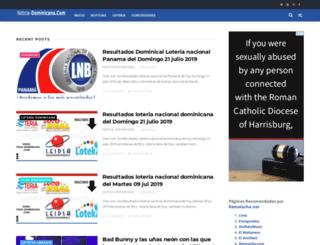 noticia-dominicana.com screenshot