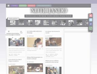 noticiandodahora.blogspot.com.br screenshot