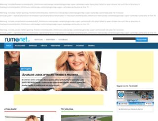 noticias.rumonet.pt screenshot