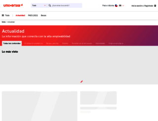 noticias.universia.cl screenshot