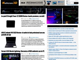 noticias3d.com screenshot