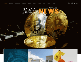 noticiasacapulconews.com screenshot