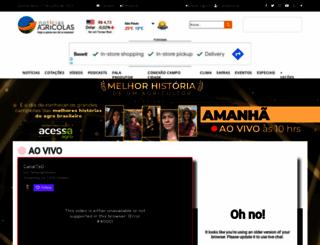 noticiasagricolas.com.br screenshot