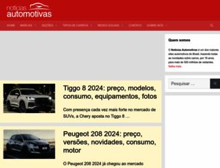 noticiasautomotivas.com.br screenshot