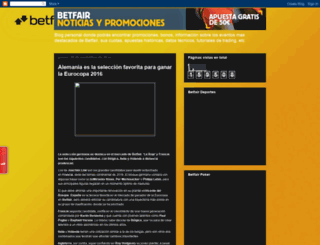 noticiasbetfair.blogspot.com.es screenshot
