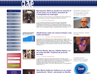 noticiasclave.net screenshot