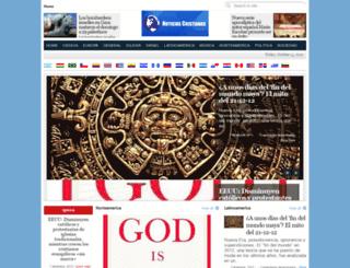 noticiascristianas.org screenshot