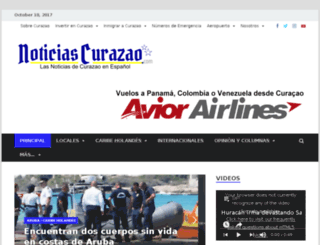 noticiascurazao.dstad.com screenshot