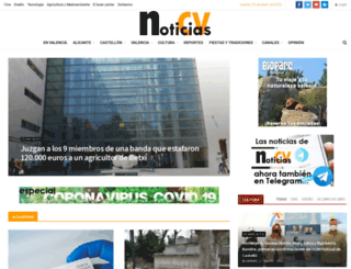 noticiascv.com screenshot