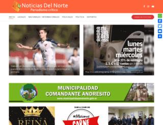 noticiasdelnorte.com screenshot