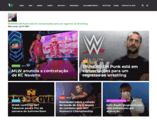 noticiasdewrestlingexpress.blogspot.pt screenshot