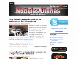 noticiasdiarias1.wordpress.com screenshot