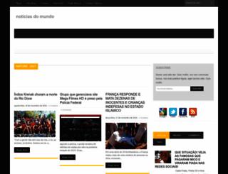 noticiasdomundooo.blogspot.com.br screenshot