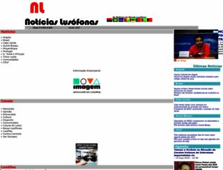 noticiaslusofonas.com screenshot