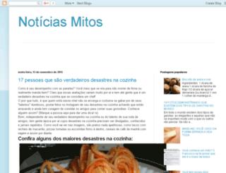 noticiasmitos.blogspot.com.br screenshot