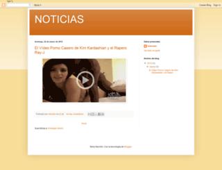 noticiasmundialhd.blogspot.com screenshot