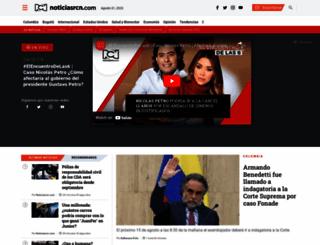 noticiasrcn.com screenshot