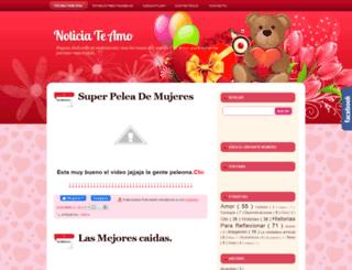 noticiateamo.blogspot.com screenshot