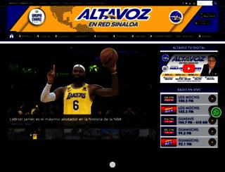 noticieroaltavoz.com screenshot