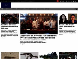noticierostelevisa.com screenshot