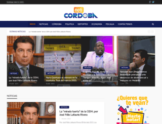 noticordoba.com screenshot