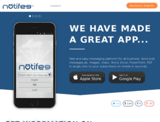 notifee.com screenshot