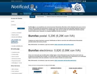 notificados.com screenshot