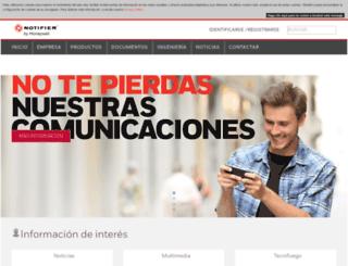 notifier.es screenshot