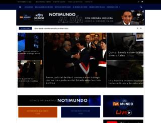 notimundo.com.ec screenshot