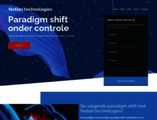 notion-technologies.com screenshot