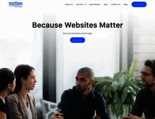 notiontechnologies.com screenshot