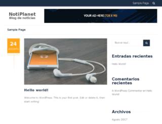 notiplanet.com screenshot